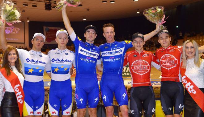Deceuninck – Quick-Step Team renners Keisse en Viviani winnen Zesdaagse van Gent