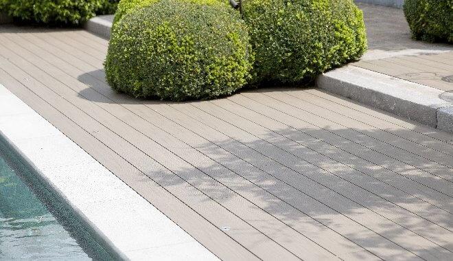 Massieve terrasplank Deceuninck